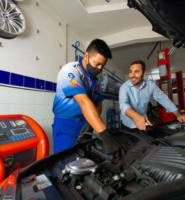 Conte com os serviços de Mecânica da Equipe Pajé Amortecedores