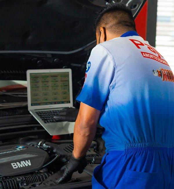 Conte com os serviços de Mecânica da Pajé Amortecedores