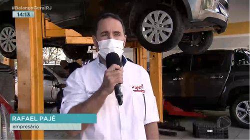 Pajé Amortecedores no Balanço Geral Rio