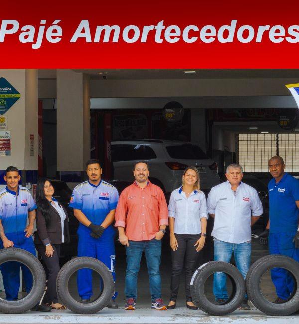 Equipe Pajé Amortecedores e Pneus